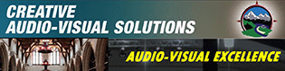 CAVS creative audio-visual solutions logo
