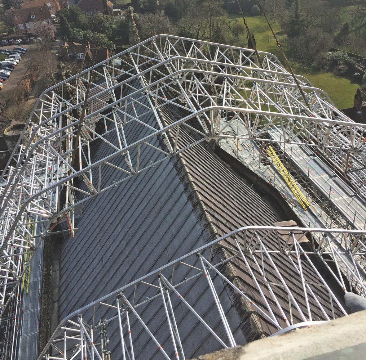 Layher Scaffolding Systems Receive High Praise At