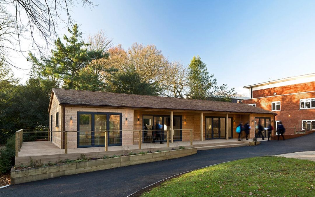 Why timber is becoming the building material of choice for schools
