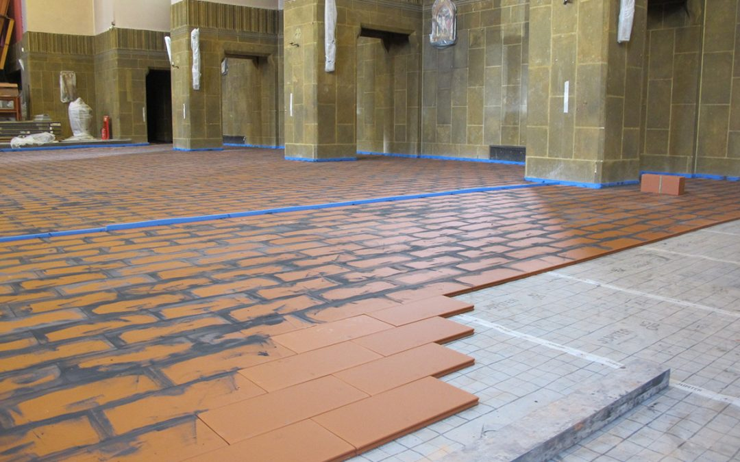 Solving the problem of heating old churches