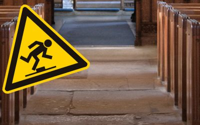 Don't slip up when it comes to health and safety