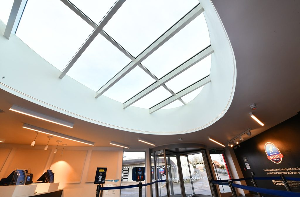 National Space Centre unveils new visitor centre with eye-catching rooflight