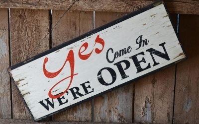 Come in: We are open!